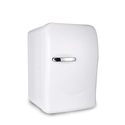 LIU UK Car Refrigerator 20 Liter Auto Mini-KüHlschrank Tragbare 12v / 220v Dual-Spannung Heizung Und KüHlbox Haushalt Einzigen TüR KüHlschrank - Weiß