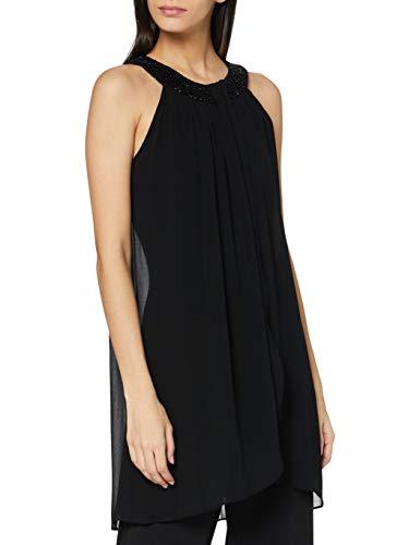 Vera Mont Damen 0166/4835 Formales Abendkleid, Jet Black, 44