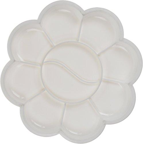 NEW Nail Art Palette de mélange pour gel, acrylique, design Palette de mélange bol Accessoires Fleurs à ongles paillettes...