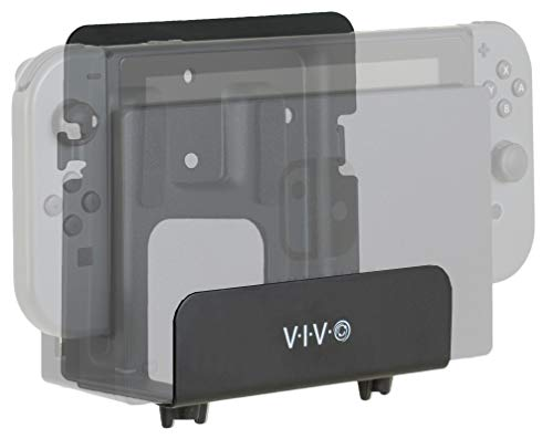 VIVO Black Adjustable Streaming Media Player, Wall Mounting Bracket Designed for Nintendo Switch, Apple TV, Roku, Fire TV, Hardware Included, MOUNT-ALL02