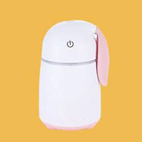 Humidificador Usb Hogar Máquina de Aromaterapia Creativa Barra de Oxígeno Purificador de Aire Oficina Oficina Dormitorio, QiXian, Blanco