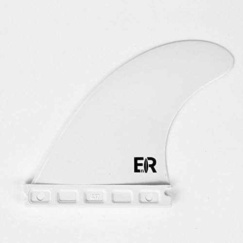 Eisbach Riders Surfboard FCS/Future Side Fins con Fin Key (tamaño G5 Medium) – Aletas para tabla de surf y SUP (Blanco, Future)