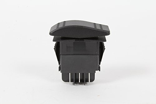Generac 0D4767 OEM RV Guardian Generator Main On-Off Rocker Switch DPDT Spade - Ultra-Source 004582 Compatible - Power System Replacement Part