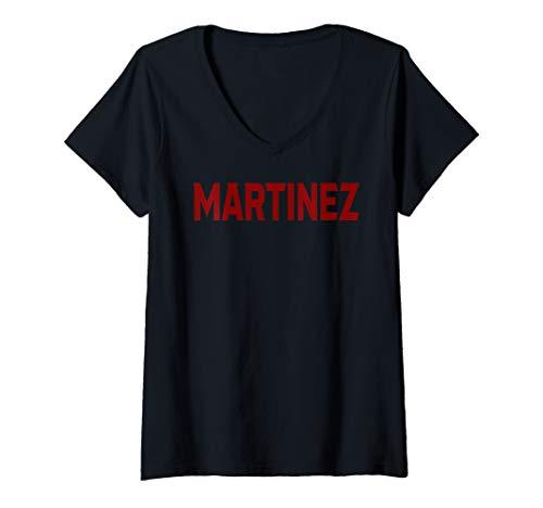 Womens Martinez Jersey V-Neck T-Shirt