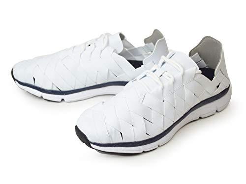 [ファナティック] スニーカー メンズ スポーツシューズ 2way メンズ ランニング ウォーキング スリッポン サンダル メッシュ 通気性 軽量 屈曲 防滑 紳士靴 靴 メンズシューズ White 27cm