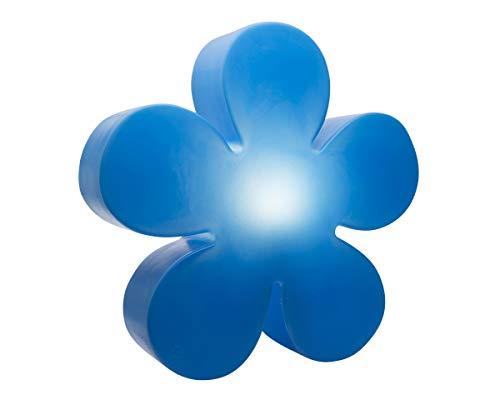 8 seasons design 32276 Culot à vis Edison E27 Lumière fluorescente compacte (CFL) 60 cm Shining Fleur, Bleu
