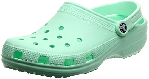 Crocs Classic Clog Unisex Adulta Zuecos, Verde (Neo Mint), 46/47 EU