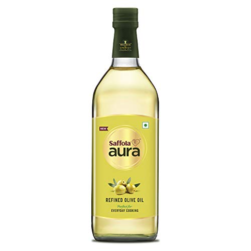 Saffola Aura Refined Olive Oil, 1ltr