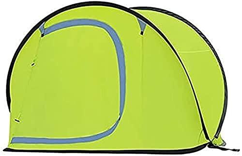 Tiendas De Campaña Refrescos Automatic Pop Up Camping Tent Shelter para 2 Persona  Tienda De Senderismo Ventilada Impermeable Configuración Fácil (Color : D)