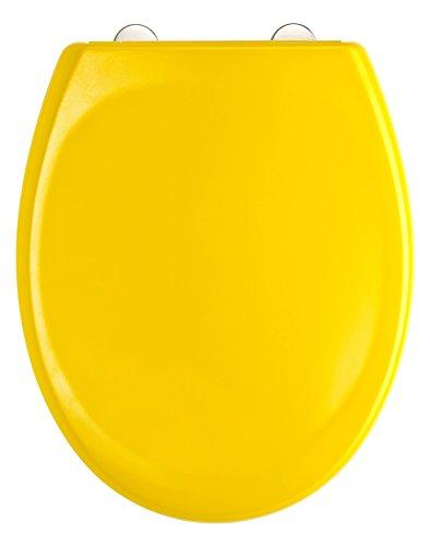 Eisl WC Sitz Duroplast, mit Absenkautomatik und Schnellverschluss, YELLOW, ED69310Y