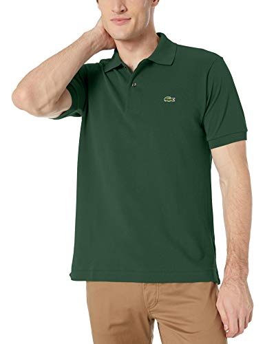 Lacoste Men's Short Sleeve L.12.12 Pique Polo Shirt, Green, XXXL