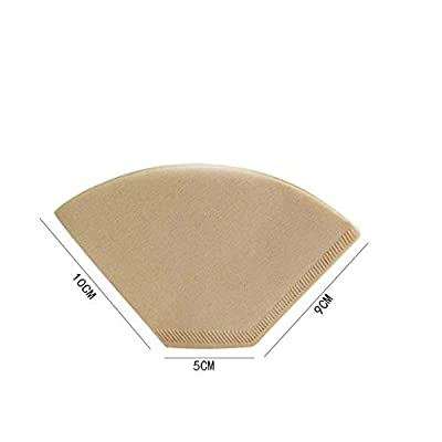 Coffee Filter Paper?Pack of 100?2 to 4 People use (1)