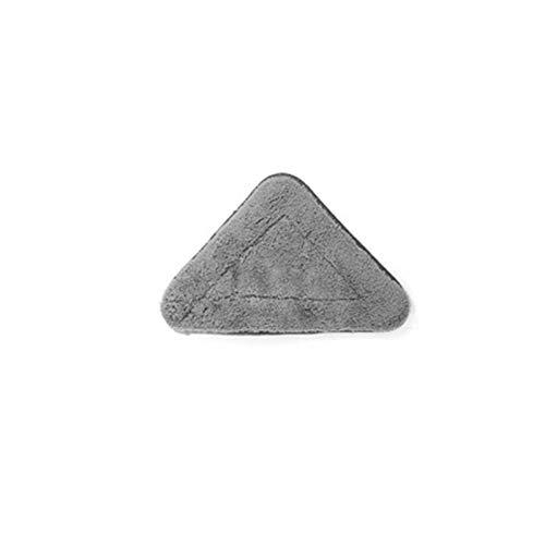 Fregona triangular, mini fregona de microfibra de chenilla de limpieza extensible de 360 grados para piso de casa, bañera, vidrio, limpieza