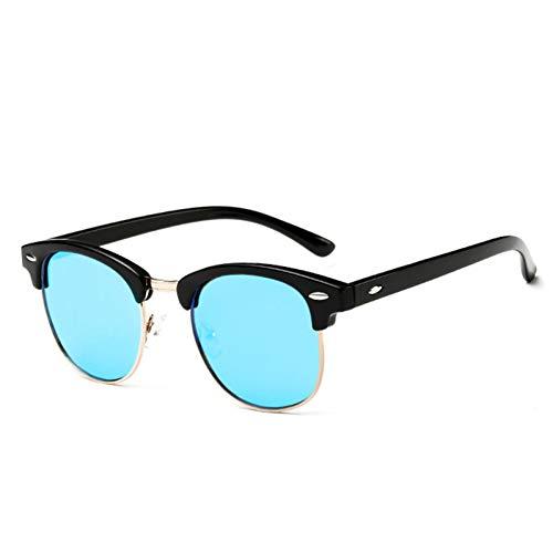 YOGER Gafas De Sol Gafas De Sol Polarizadas Mujeres Retro Marco De Metal Gafas De Sol Famosa Señora Designer