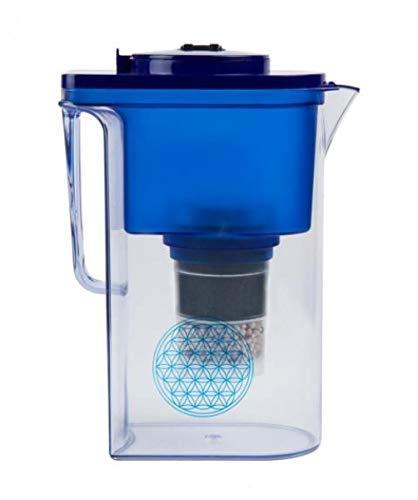 Wasserfilter AcalaQuell® Wassetto | Blau | Aktivkohle Wasserfilter | Höchste Filterleistung - mehrschichtig | BPA u. BPB frei | ReNaWa® - Technology | Kreiert köstlich schmeckendes, wohltuendes Wasser