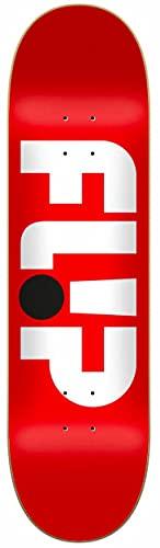 Flip Odyssey Logo Red 8.25'x32.31' Deck...