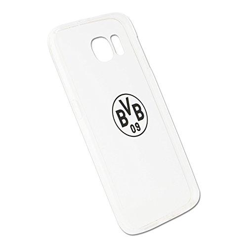 Borussia Dortmund BVB - Cover per Samsung Galaxy S6, trasparente, taglia unica