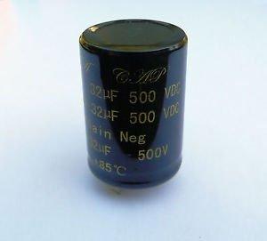 Audio De Medusas 32+ 32uF 500V Condensador De Marshall Y Amplificadores De...