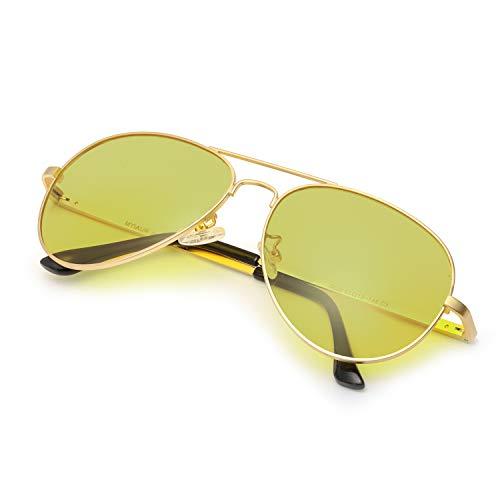 SODQW Gafas de Sol Fotocromaticas Polarizadas Hombre con Nocturna Conducción y Deporte, Anti Reflectante Gafas Nocturna Protección 100% UVA UVB