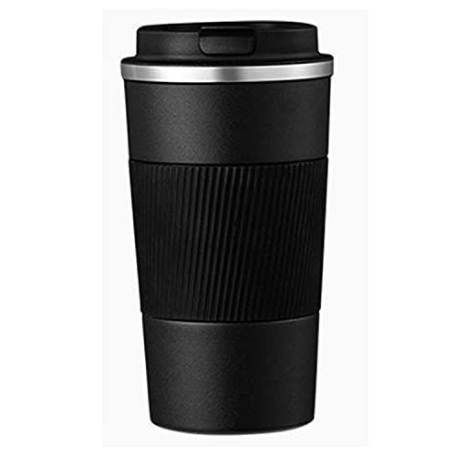 YYDSJFM Roestvrij staal Thermos Mok Draagbare In-vehicle Isolatie Koffie Cup met Deksel (510ml)