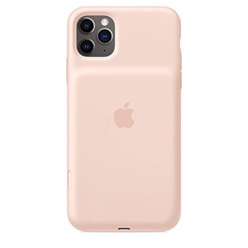 Apple Smart Battery Case con Ricarica Wireless (per iPhone 11 Pro Max), Rosa sabbia