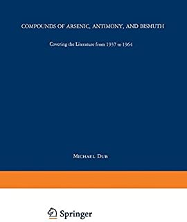 Compounds of Arsenic, Antimony, and Bismuth (Organometallic Compounds)