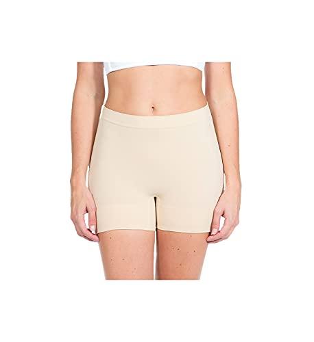 MAGIC BODYFASHION Magic Comfort Short Faja Moldeadora, Beige (Latte 300), 42 (Talla del Fabricante: X-Large) para Mujer