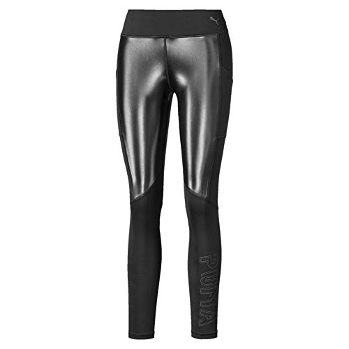 PUMA Damen Get Fast Winter Tight Leggings, Black, M