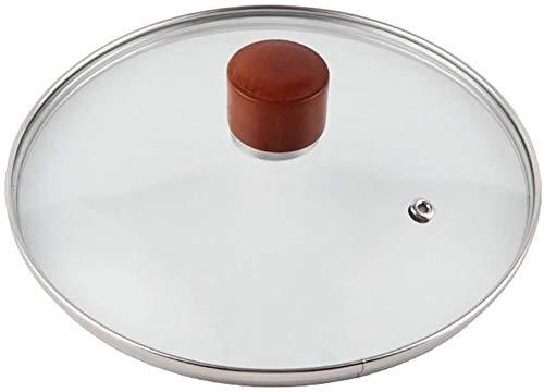 NN Pentola Coperchio Cucina Temperato Universale in Vetro Wok Zuppa Universale Regolabile per Padelle Tegami di Diametro in Vetro con,14cm