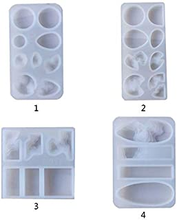 MINGTAI Manual Pendant Jewelry Crafts Making Silicone Mould UV Resin Molds Crystal Epoxy Mold (Color : 3)