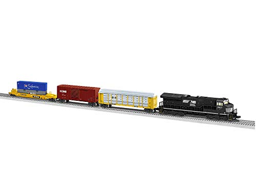 Lionel Norfolk Southern Modern Freight Tier 4 Electric O Gauge Model Train Set w/ Remote and Bluetooth Capability