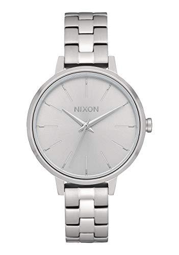 NIXON Reloj Analógico para Mujer de Cuarzo con Correa en Acero Inoxidable A1260-1920-00