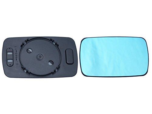 Alkar 6402485 Espejo Exterior con Soporte para Automóviles, Reversible