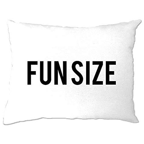 Odeletqweenry - Funda de almohada divertida para recámara, tamaño corto, diseño de chiste tonto chiste chica pequeña femenina social media dulce pequeño regalo divertido manta de 12 x 16 pulgadas decoración del hogar