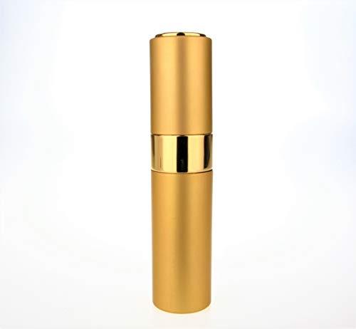 The Essential Twist Or 8ml Parfum Aftershave Voyage/Sac à main atomiseur, Rechargeable, Avec Entonnoir