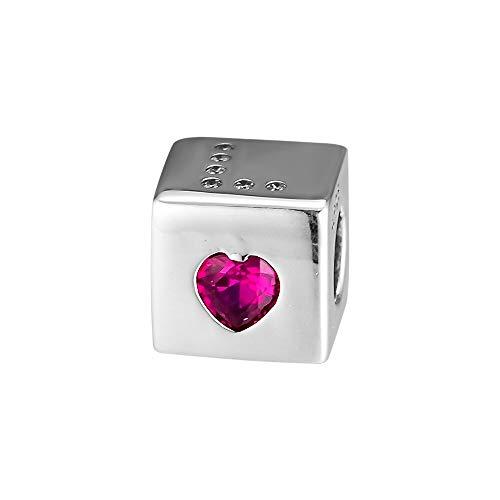 LILANG Pandora 925 Schmuck Armband Natural Love Dice Charm Perle Charms Sterling Silber Perlen für Pulsera Frauen DIY Geschenk
