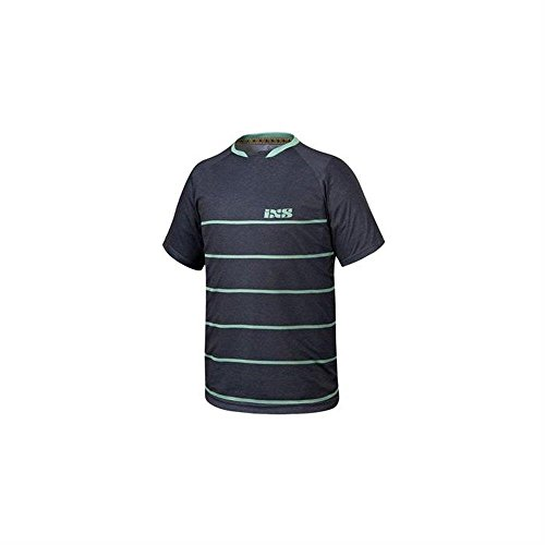 IXS PROGRESSIVE 6.2 MTB Jersey - schwarz pale grün