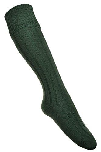 WB SOCKS Neue Kilt Socken LOVAT, GRÜN Größe 44-47