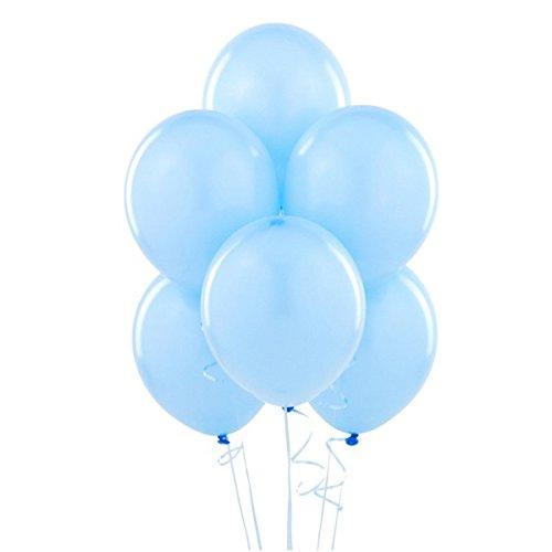 Gemar-Palloncini in Lattice 10' Colore Azzurro Pastello CONF.100pz, G90/09