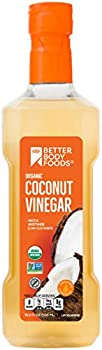 BetterBody Foods Organic Coconut Vinegar, 16.9 Ounces