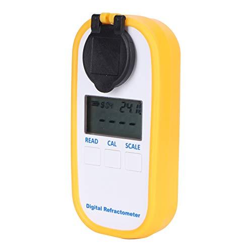 Refractómetro de la protección del refractómetro de Digitaces IP65 10℃ a la compensación de la temperatura, para la determinación de Baume de la miel