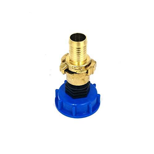 CM135100102 Kappenverschraubung S60x6 + GEKA - Messing-Kupplung IG 1