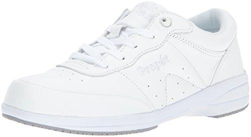Propet Women's Washable Walker Walking Shoe, SR White, 9.5 N US