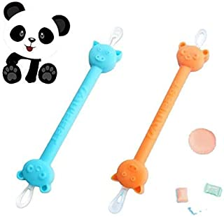The Safe Baby Nasal Booger and Ear Cleaner - Baby Shower Registry Essential | Easy Baby Nose Cleaner Gadget for Infants an...