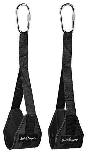Bad Company Heavy Duty Armschlaufen zum Bauch- und Rückentraining aus Nylon I BC-98