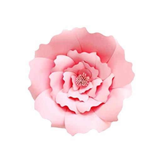 1pcs / 2ST 20cm 30cm DIY Papierblumen-Kinder Foto Hintergrund Künstliche Blumen Hochzeit Geburtstag Party-Ausgangswand-Dekoration