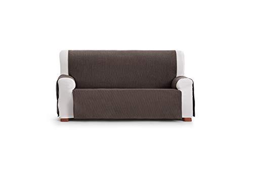 Eysa Loira Protect Imperméable et Respirant Housse de canapé 65% Polyester 35% Coton, Chocolat, 110 cm.