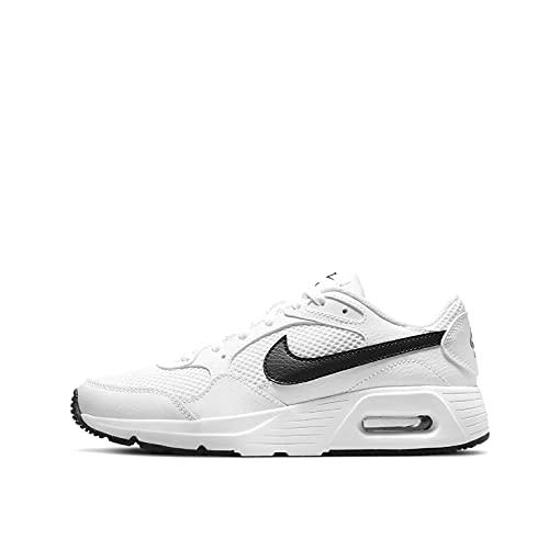 Nike Air Max SC, Scarpe da Corsa, White/Black-White, 33 EU