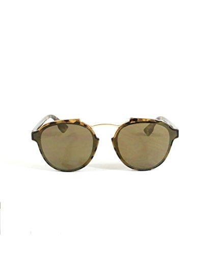 Gafas de sol chica mujer redonda pasta carey moda 2018 Proteccion Solar (Carey, marrón)