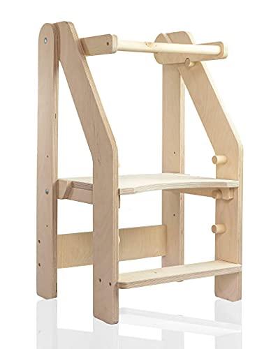 Torre plegable de aprendizaje para niños pequeños